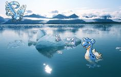 Icy Iceberg Pokémon! - Photography
