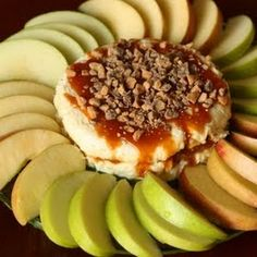 Caramel Cheesecake Apple Dip! Choose a glass of Jacquesse wine from Stone Hill Winery to pair with this dip. http://shop.stonehillwinery.com/jacquesse-wine-c13.aspx