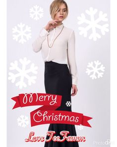Merry Christmas to you all! We wish you a wonderful #Christmas. Shop the maxi skirt below here http://ow.ly/8UIV307kRDT With love TeeFamm❤️ #Christmas #Fashion #Style #FashionBlogger #Xmas #Snowflake #Maxi #Skirt #Holidays #Festive #Season #Christmas2016 #Love