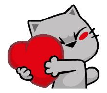 The perfect Cats Heart Hug Animated GIF for your conversation. Discover and Share the best GIFs on Tenor.