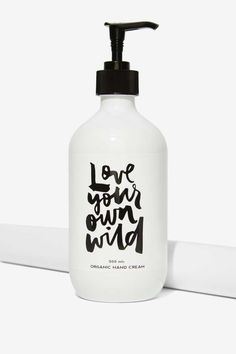 Babe Scrub Be Wild Organic Hand Cream | Shop Accessories at Nasty Gal!