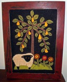 SHEEP and PEAR TREE