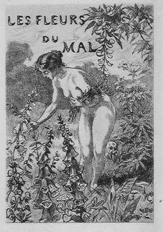 Baudelaire, les fleurs du mal.