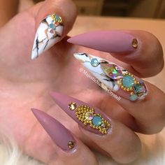 """1,352 Likes, 12 Comments - ReCreations & Inspirations (@vanessanailzfeatures) on Instagram: """"Because she has a way to my heart @helennails_yeg ✨✨✨"""""""