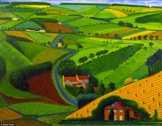The Road Across the Worlds - David Hockney (1997)