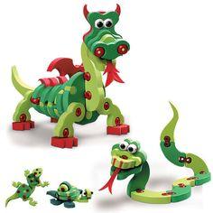 Bloco Toys Dragons a