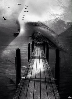 """""""You said to me once..that you will show me the White Bridges, because I never saw that...do you remember?..I wish we can see that  together..Maybe someday??..I hope so.❤...Xxx..L.Loe"""