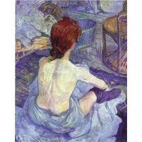 La Toilette By Henri de Toulouse Lautrec: Category: Art Currency: GBP Price: GBP27.00 Retail Price: 27.00 Art Nouveau Figurative Blue