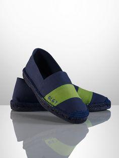 Bachworth Canvas Espadrille - Casual  Shoes - RalphLauren.com