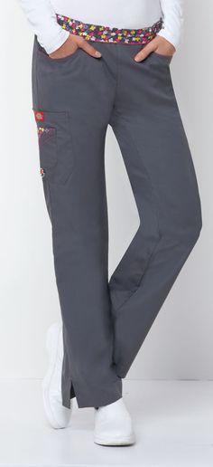 Dickies Medical 82010 Pantalon con Resorte Tipo Cargo para Mujer - BODEGA DE UNIFORMES DICKIES | CHEROKEE | IGUANAMED | HEART SOUL | CODE HAPPY | SLOGGERS | ANYWEAR