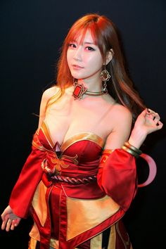Lina (DotA)cosplayparadise.net