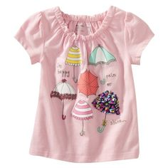 Cherokee® Infant Toddler Girls Short-Sleeve Tee - Pouty Pink.Opens in a new window