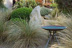 coastal, country garden design, by Fiona Brockhoff Australian Garden Design, Australian Native Garden, Bush Garden, Dry Garden, Garden Paths, Coastal Landscaping, Landscaping Ideas, Garden Landscaping, Coastal Gardens