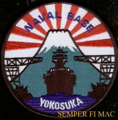 US NAVAL BASE YOKOSUKA JAPAN