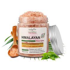 280g Himalayan Pink Salt SPA Bath Salt Spa Bath Salt Exfoliation Dead Skin Remover Spa Salt Bath Body Skin Care Massager Scrub