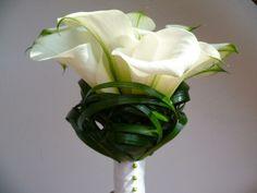 Wedding bouquet 'Calla'