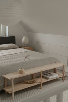 Toronto based furniture brand KROFT makes the most beautiful furniture from ash wood. Their collection ranges from minimal wall hooks to slim framed Nordic style shelving units and Japandi inspired stools.
