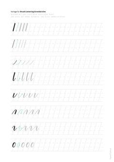 Calligraphy Letters, Brush Lettering, Smash Book, Cursive, Bullet Journal, Scrapbook, Handwritting, Charlotte, Texts