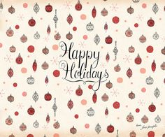 'happy holidays'