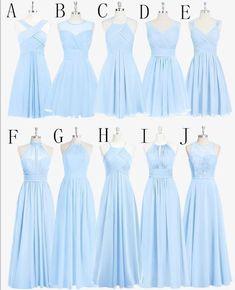 Matron Honor dress- C Brides Maid dress-G