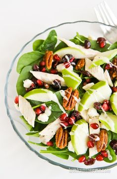 Make a great dinner choice with this sweet and savory Sweet Tooth Salad!