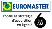 Euromaster, acteur majeur de l'entretien automobile, a choisi 6:AM pour piloter l'ensemble de sa stratégie d'acquisition digitale à l'occasion du lancement de sa boutique en ligne.  Groupe Fullsix France