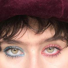 Dual eyeshadow | eyeshadow trends | Makeup and beauty trends 2018 | latest makeup trends | pastel eyeshadow