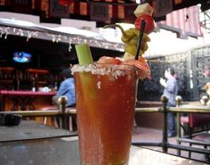 7 Best Bloody Marys in LA - Bloody Mary Bar... need I say more