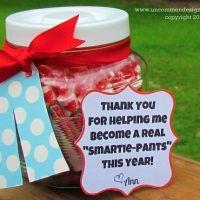 Teacher Appreciation Week Smartie Pants Teacher Gift