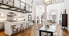 Stylish West Village co-op with glass-enclosed catwalk seeks $4.3M