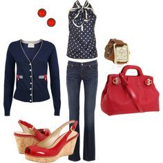 spring outfits 2014 polyvore - Google Search