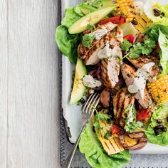 Enchilada Salad Easy Lunches For Work, Tortilla Wraps, Mexican Food Recipes, Ethnic Recipes, Salmon Salad, Lunch Meal Prep, Enchiladas, Main Meals, Salad Recipes