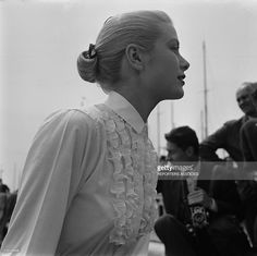 News Photo : Grace Kelly in Italy on January 01, 1950.