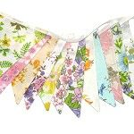 Vintage Retro Multi-Colour Floral Flag Bunting. Party Home Decoration . Wedding - by merry-go-round on madeit