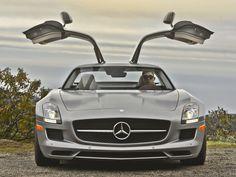 2013 Mercedes-Benz SLS AMG GT has old school charm and modern sophistication. Mercedes Benz Sls Amg, On The Road Again, First Drive, Ferrari, Lamborghini, My Ride, Motor Car, Hot Wheels, Cool Cars