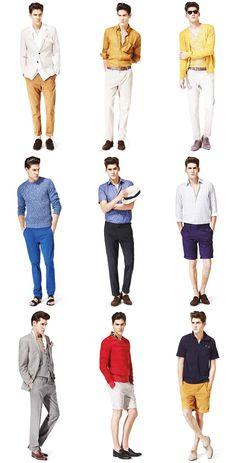 Italian - summer style with Reiss Men's SS12 Lookbook