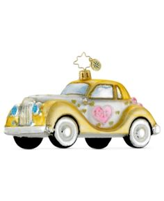 Christopher Radko Christmas Ornament, Your Chariot Awaits. Christopher Radko Christmas Ornament, Your Chariot Awaits Home - Misc Holiday Lane. Price: $52.00