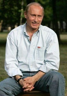 PUTIN VLADIMIR Russian President.   May God continue to shower you with all the blessings you truly deserve!