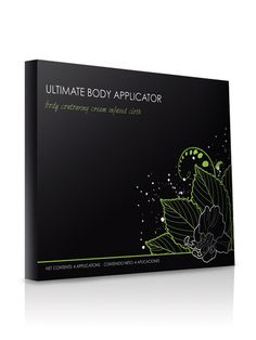 "The Ultimate Body Applicators    Expect ""ultimate"" results with this amazing 45-minute body Applicator! The Ultimate Body Applicator is a non-woven cloth wrap that has been infused with a powerful, botanically-based formula to deliver maximum tightening, toning, and firming results where applied to the skin. www.backtosexy.com"