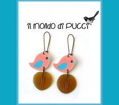 Orecchini Little Bird - Il mondo di Pucci