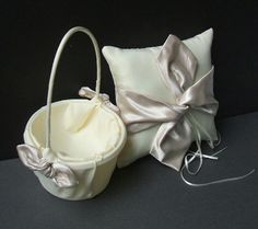 basket and pillow