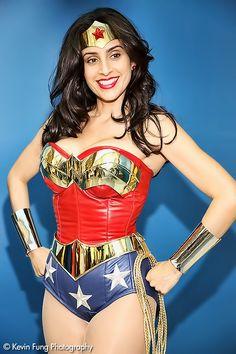 Wonder Woman Cosplay by Valerie Perez Big Wow Comicfest 2013