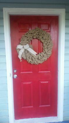 Front door: After
