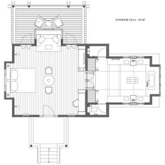 aman resorts villas floor plans - Google Search
