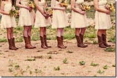 Rustic feel for someone's wedding?