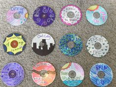 Getting white labels for your CDs so you could decorate them with colored Sharpies. LOL.
