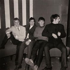 The Who at the Marquee Club in Soho, London 1964.