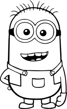 Printable Pictures Of Minions - √ 27 Printable Pictures Of Minions , Minion Coloring Pages Best Coloring Pages for Kids Minion Coloring Pages, Cute Coloring Pages, Disney Coloring Pages, Printable Coloring Pages, Coloring Pages For Kids, Coloring Books, Colouring, Frozen Coloring Sheets, Boy Coloring
