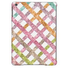 Girly Bright Mod Glitter Stripes Diamond Pattern iPad Air Cover today price drop and special promotion. Get The best buyShopping          	Girly Bright Mod Glitter Stripes Diamond Pattern iPad Air Cover lowest price Fast Shipping and save your money Now!!...