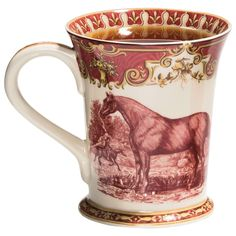 Equestrian Mug…I NEED this!